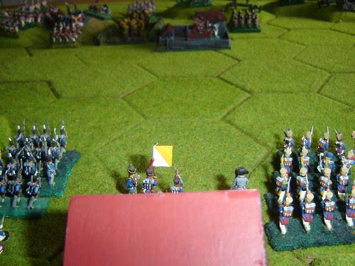 Napoleon surveys le Haye Sainte