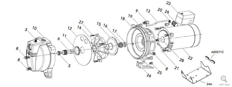 Wiring Diagram  30 Gould Jet Pump Diagram