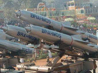 """Ракеты """"БраМос"""". Фото с сайта orissadiary.com"""