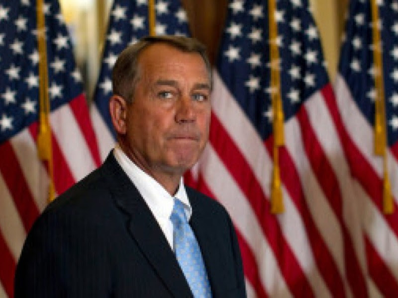 Bounce Boehner (But Not Because of the Fiscal Cliff)