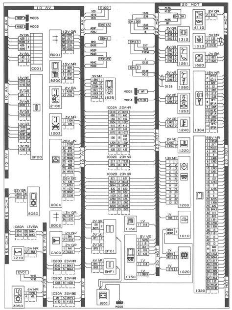 PEUGEOT 406 - ENGINE TYPE: P8C ( XUD11BTECY/L1/L3 ) - EPIC