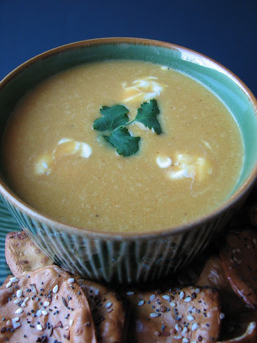 Thai Carrot and Ginger Soup
