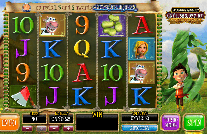 Bounty of the beanstalk slot machine online playtech Bergama