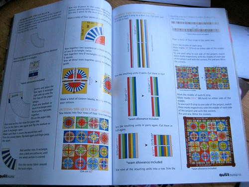 Metric directions for the Wagon Wheel quilt