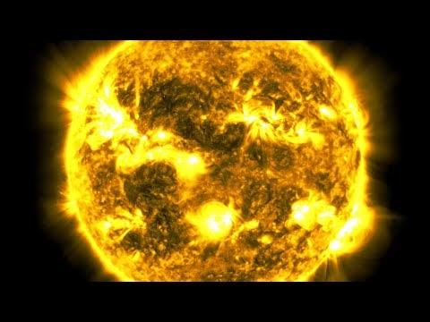 10-летнее видео с интервальной съемкой Солнца от SDO НАСА