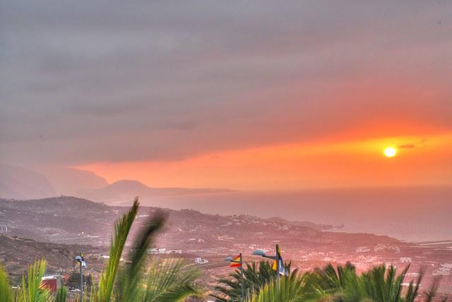 Sunset in Tenerife / Atardecer en Tenerife
