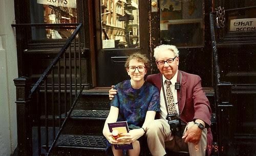 Me & Robbie, my NYU grad May 1991