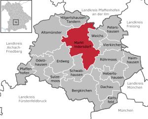 Markt Indersdorf in DAH