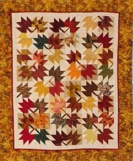 MIni Maple Leaf Quilt
