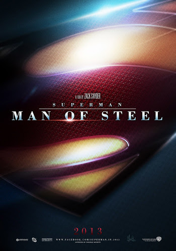 SUPERMAN - MAN of STEEL [Teaser Shield 2013] v.2