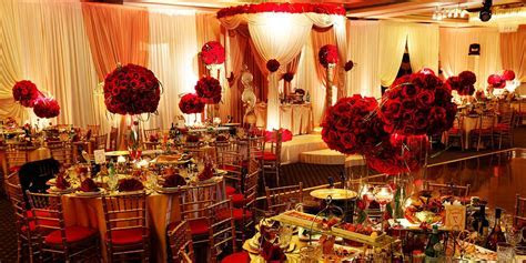 gold and red wedding decor   Billingsblessingbags.org