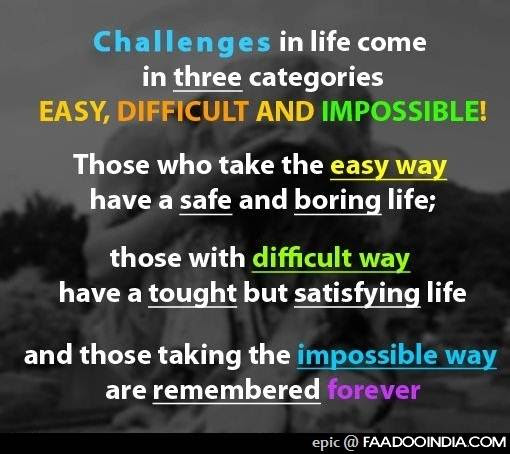Inspirational Quotes On Life Challenges With Pictures Nemetas