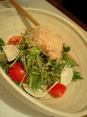 有機野菜のサラダ@燦土