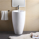 Black Modern Padestal Sink With Double ? The Decoras Jchansdesigns : Design Modern Pedestal Sink