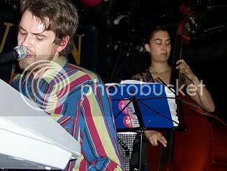 Fyfe & Aristazabal of Guillemots @ Horseshoe Tavern: photo by Mike Ligon
