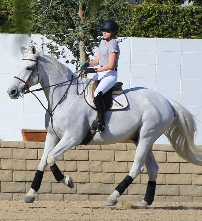 Chloe Moretz: Riding a Horse -19