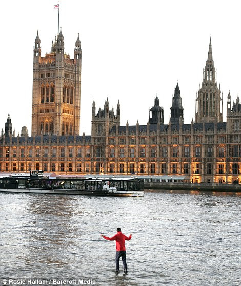 Feat of Parliament: Perhaps Dynamo, real name Steve Frayne, could  magic up a solution to the deficit problem