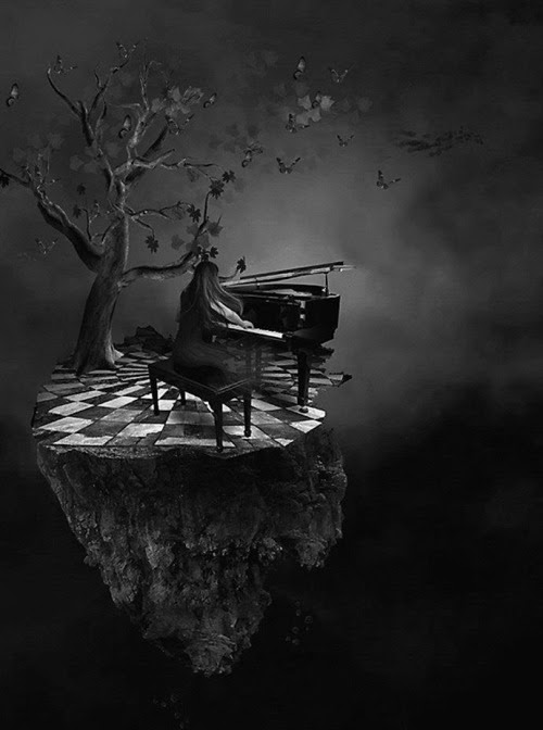 blackoutraven:  harmonies  Do what you enjoy most. Read, play music, sing…. Escape into your own fantasy world. Refresh your mind and energy. You'll be more than ready to face the world once again.