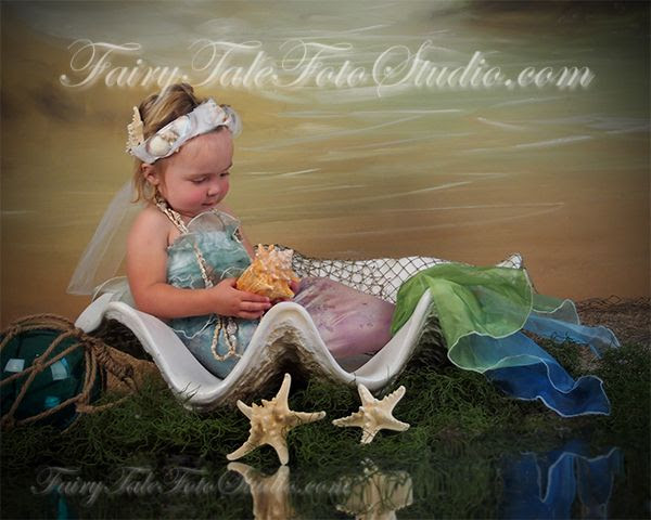 Just Kids Photography Mermaid 2 Year Old Girl