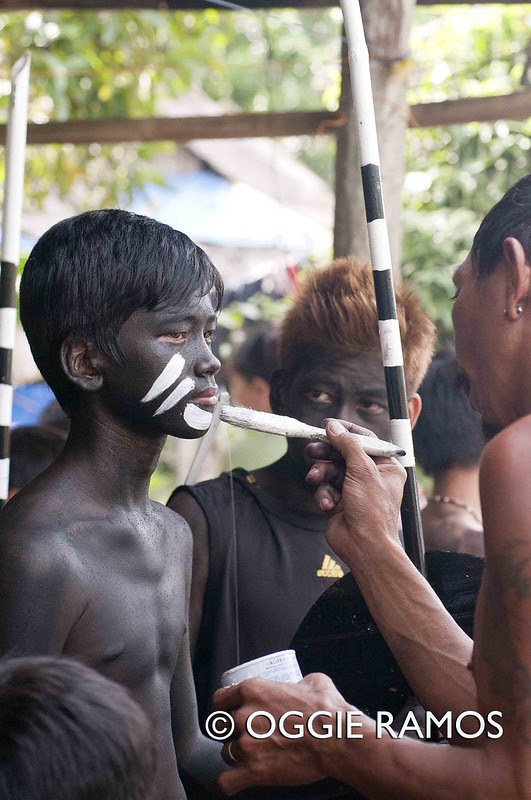 El Nido Barutuan Festival Face Painting Session