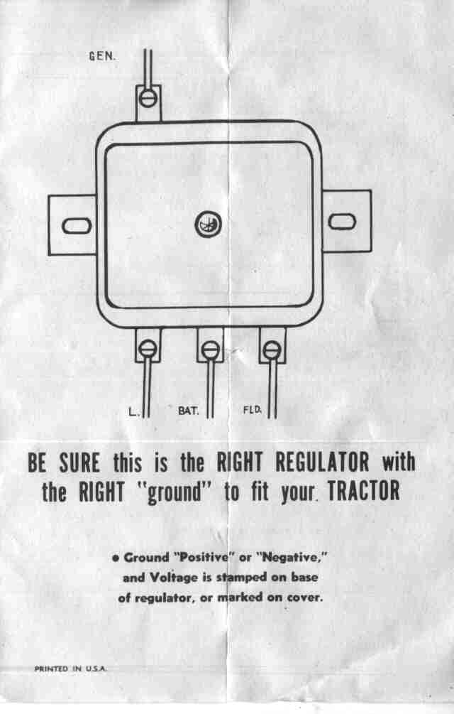 Tractor Positive Ground Wiring Diagram For Basic Wiring Diagram Correction Correction Cfcarsnoleggio It