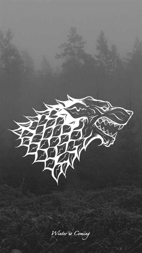 game  thrones wallpaper house sigil stark