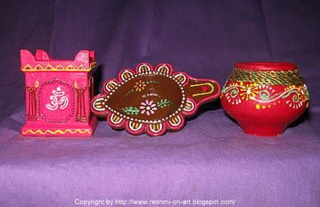 diya-decoration-1 by Gayathri Lakshmanan in Top Diwali gift ideas ...