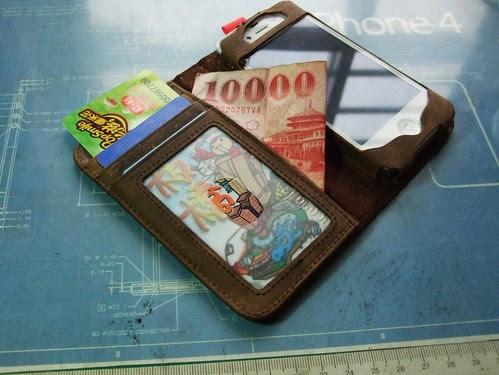 BookBook 皮夾功能