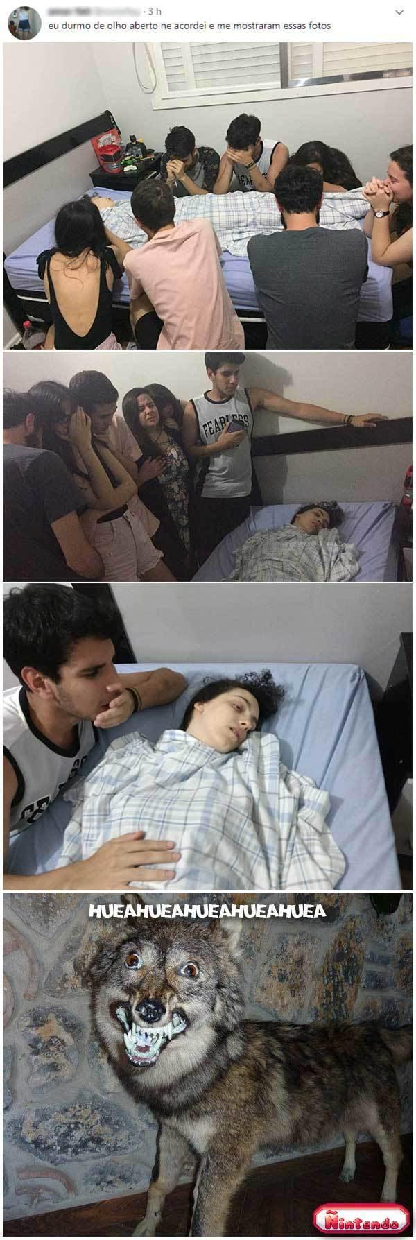 Tá Dormindo Ou Tá Morta?