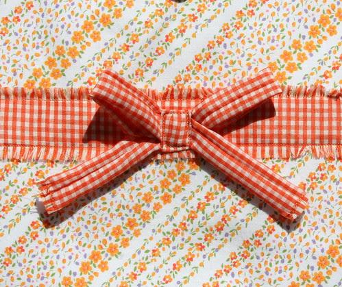 Gingham bow