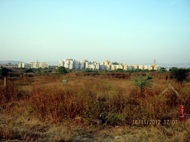 Vision County 50 Acre Township at Jambhulwadi from Old Mumbai Pune Highway - N H 4