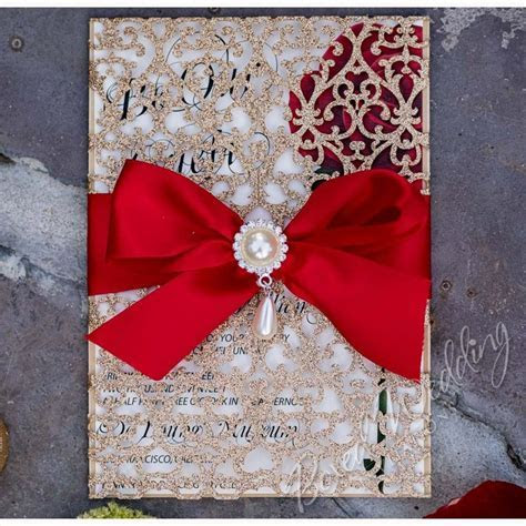 Beauty and the Beast Inspired Invitation   Handmade