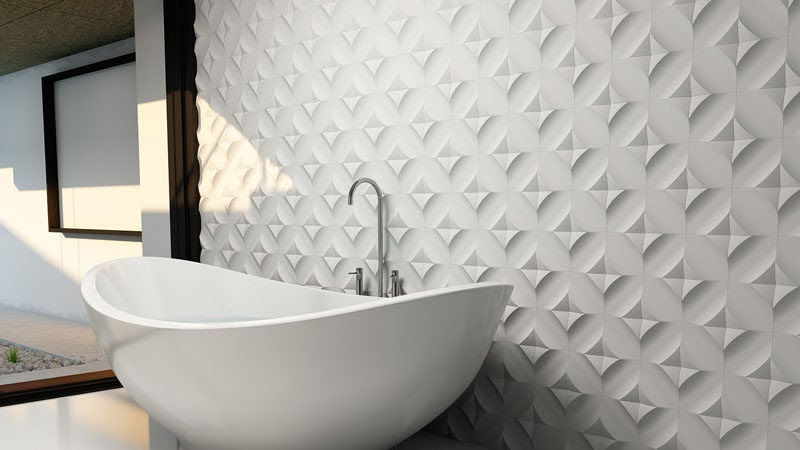 Get Inspired For Grey Bathroom Wall Tiles Texture images