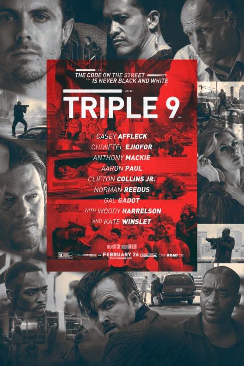 Cartel de la película Triple 9
