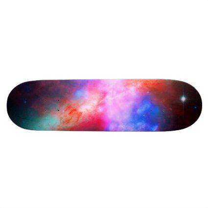 The Active Cigar Galaxy - Messier 82 Custom Skateboard