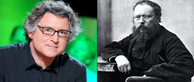 Michel Onfray, Pierre-Joseph Proudhon pour la Point