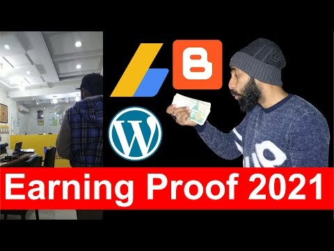 How Much i Earn from Blogging this Month | Blogging Earning Proof 2021