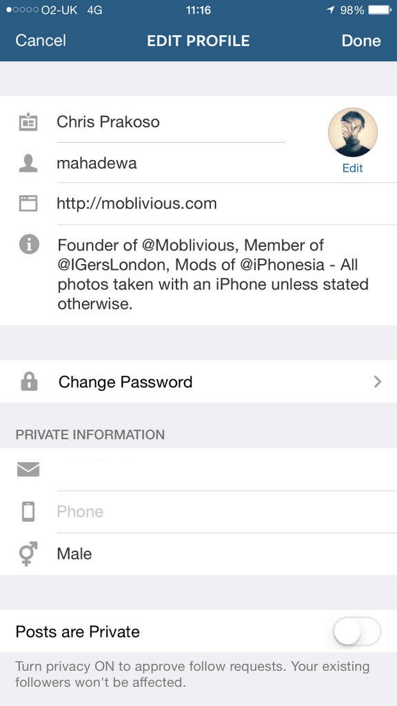 How To Change Your Instagram Email Address - Moblivious