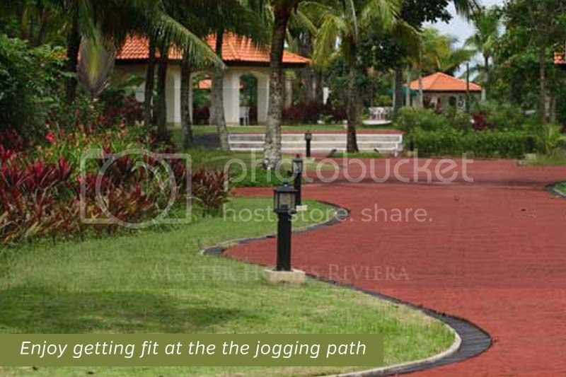 Master Homes Riviera Jogging Path