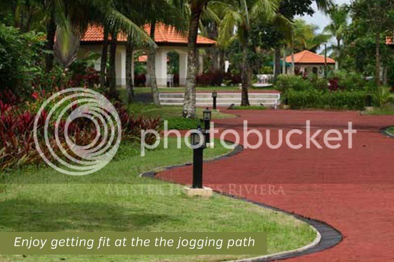 Master Homes Riviera Jogging Path