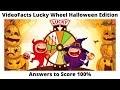 VideoFacts Lucky Wheel: Halloween edition Quiz Answers