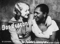 Interação entre brancos e negros era indesejada no Terceiro Reich