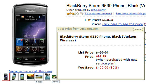 BlackBerry Storm by you.