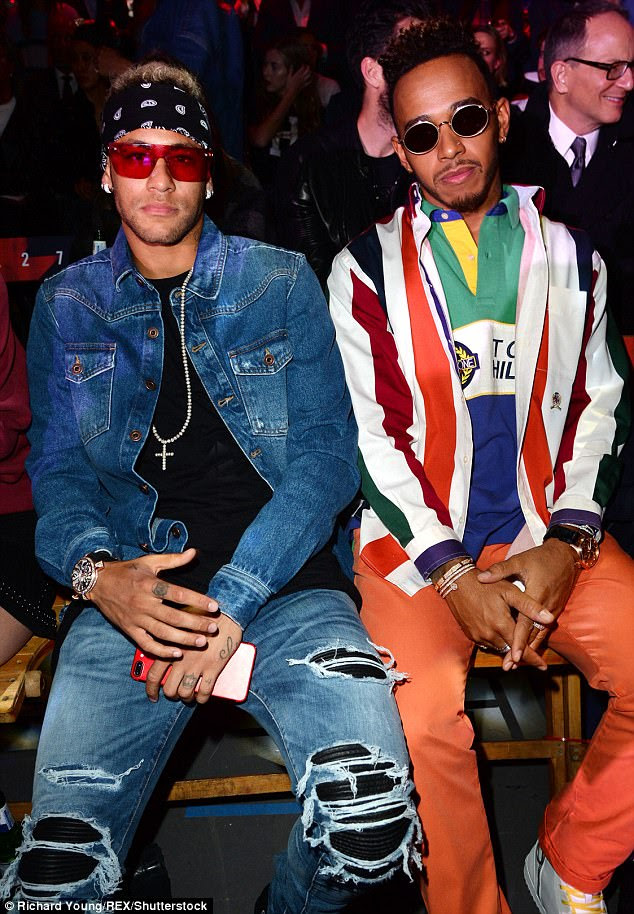 Neymar Fashion Week London