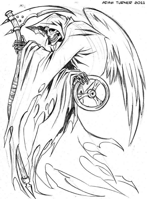 Reaper Drawing At Getdrawingscom Free For Personal Use Reaper