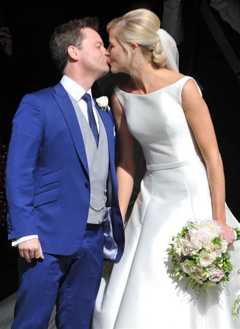 Dec's wedding to Ali Astall was blessed by Pope after