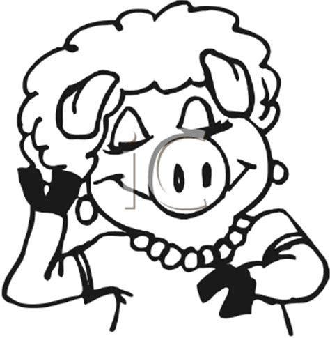 Royalty Free Pig Clip art, Farm Animal Clipart