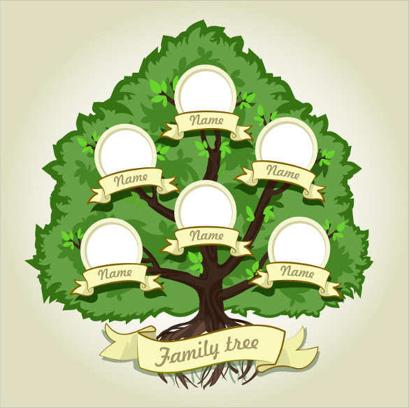 Family Tree Template - 29+ Download Free Documents in PDF, Word ...