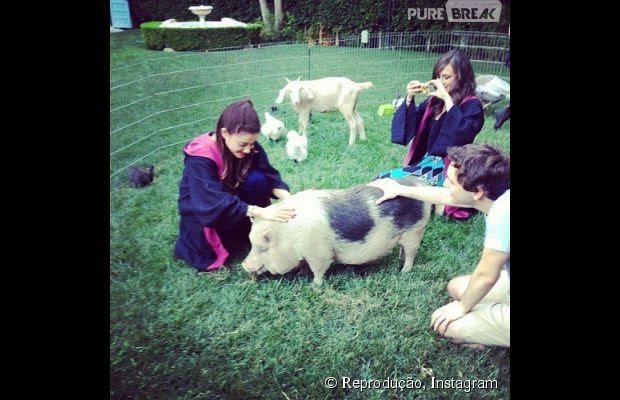 """Ariana Grande comemorou seus 20 anos com uma festa de """"Harry Potter"""""""