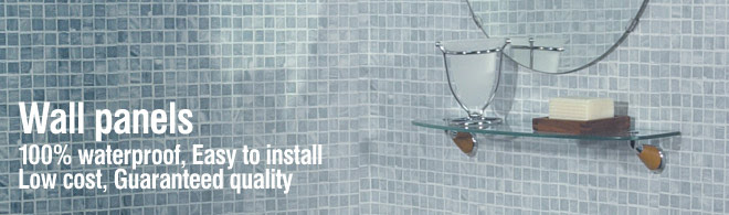 Stunning PVC wall panels for all wet room & bathroom areas